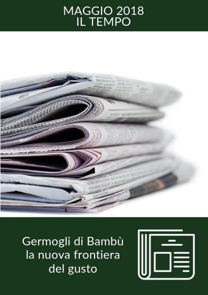 Germogli di bambù, la nuova frontiera del gusto – Il Tempo